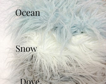 Curly Sheep Faux Fur, 8 Beautiful Colors, Newborn Baby Photo Prop, Flokati Look, Faux Sheep Fur, Luxury Photo Prop,