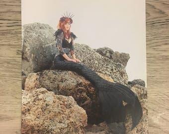 Dark Mermaid Poster