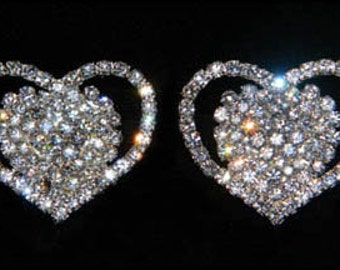 Style # 15677 - Heart Shoe Clips