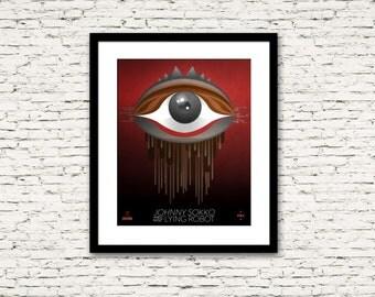 Johnny Sokko and his Flying Robot Poster 3 Ganmons Print 16x20