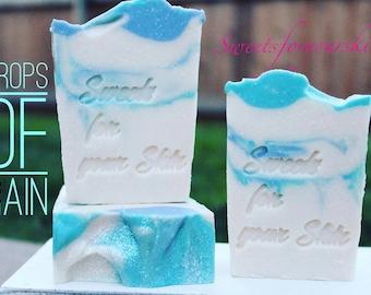 Drops of Rain goats milk soap