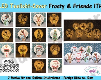 LED Licht-Cover Frosty & friends 10 x 10 frame
