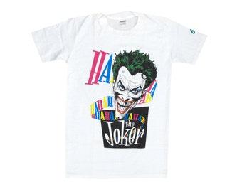Vintage Joker White T-Shirt