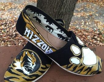 Mizzou Handpainted Toms