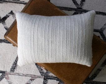 Chunky white pillow