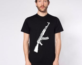 KillerBeeMoto: Limited Release AK47 Kalashnikov Assault Rifle Short or Long Sleeve T-Shirt