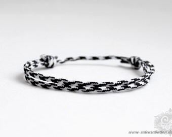 """cute as a button """"PARA Excellence / skinny - hound's tooth check"""" Armband"""