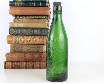 Antique Bottle H&G Simmonds Ltd The Hop Leaf Brewers Reading Bottle - 27cm