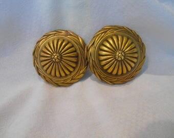 Antique Brass Knobs
