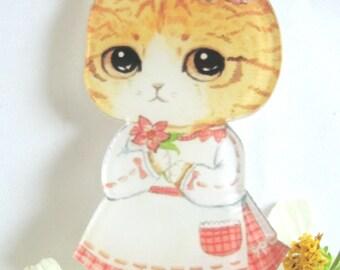 Baby Journal Embellishments,Children Handbag Embellishments,Cat Embellishment,Card Embellishment,Scrapbooking Embellishment