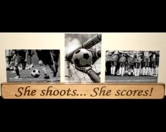 Soccer girl room wall art pre teen girls art teen girl gift