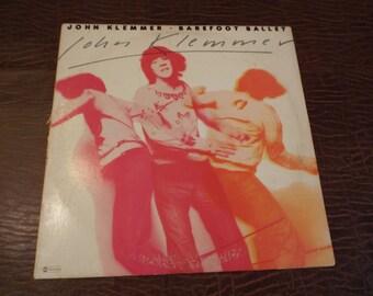 John Klemmer Barefoot Ballet  LP Album Sleeve and Cover, Gift under 10, 1976 New York
