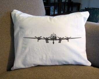 Vintage Airplane Pillow, Travel Pillow, Airplane Pillow, Car Pillow, Vintage Airplane, Throw Pillow, Old Airplane, Vintage Airplane Pillow
