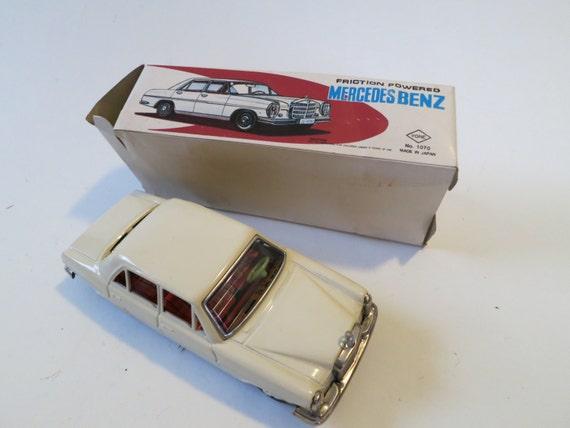 Mercede  Japanese, friction, tin, car.
