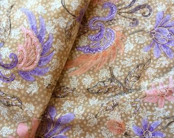 Antique Cotton Batik Sarong Indonesian Wax Resist Fabric - B8