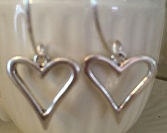 Heart Hoops earrings