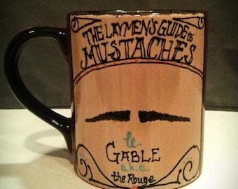 Gable Mustache Mug
