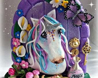 Unicorn Fairy Door - FD712