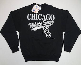 Chicago White Sox Sweatshirt Vintage 1990s XL Deadstock