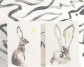 Rabbit Christmas Card Pack