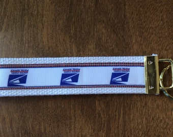 US Post Office Key Chain Zipper Pull Wristlet