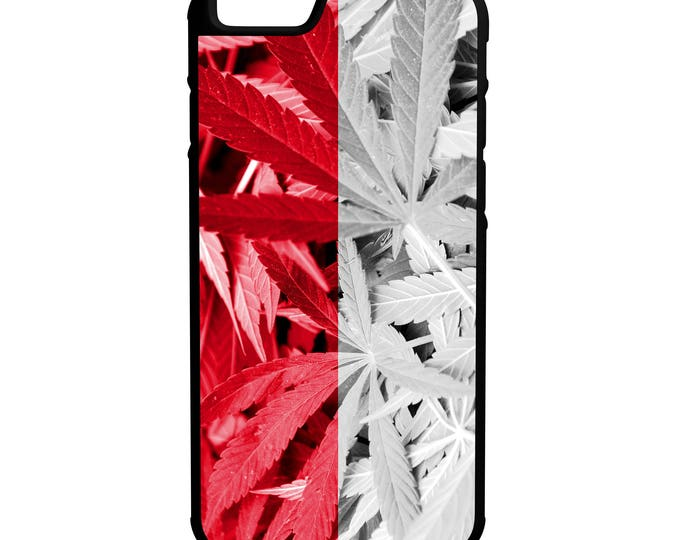 Indonesia Weed Flag iPhone Galaxy Note LG HTC Hybrid Rubber Protective Case