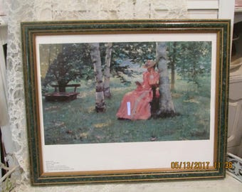 Shabby Chic, French Country Vintage Robert Reid Print