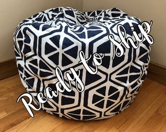 Bean Bag Chair Cover READY To SHiP Readers Nest COVER