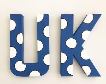 University of Kentucky handpainted letters