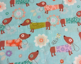 Dachshund Fabric
