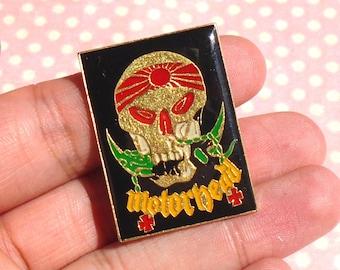 Vintage Motorhead pin