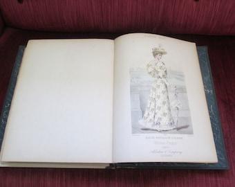 VERY RARE!  1893 Summer Season Salesman's Sample/Fashion Catalog/Collection of Antique Fashion Plates  #17067
