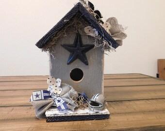 Dallas Cowboy Birdhouse