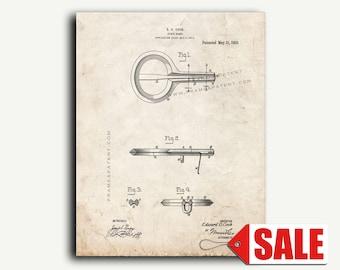 Patent Print - Jews'-harp Patent Wall Art Poster