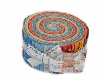 Spring A Ling Jelly Roll by American Jane for Moda Fabrics. 21710JR