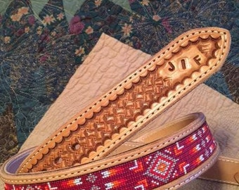 CUSTOM Beaded Belt