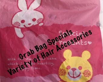 Adult Grab Bags Special Hair Accessories Total Value 40 Dollars