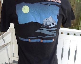 Size L- (43) ** 1987 Los Lobos Concert Shirt (Double Sided) (Deadstock Unworn)