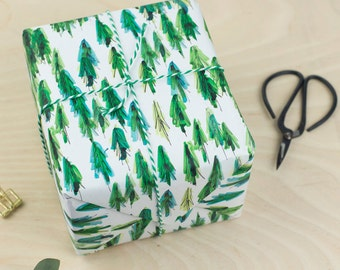 Luxury Tree Wrapping Paper - gift wrap, botanical, urban jungle, urban jungle bloggers, indoor garden, plant life, luxury gift wrap