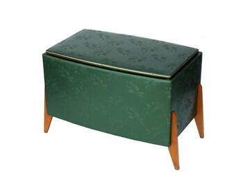 Green chest in Scandinavian style Mid Century