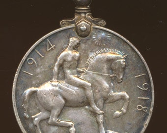 WWI British War Medal to Wiltshire Regiment / Oxfordshire + Buckinghamshire Regiment soldier, named, numbered