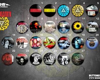 Soundgarden collection / / Soundgarden buttons collection