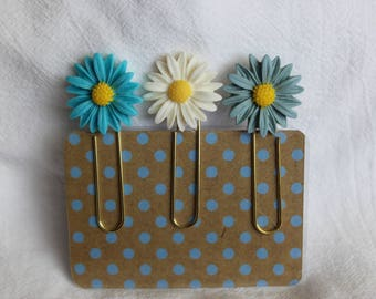 Sunflower Cabochon Planner Paperclip