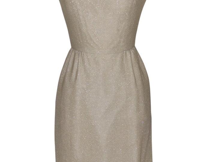 Vintage Estate Silver Thread ILGWU Dress