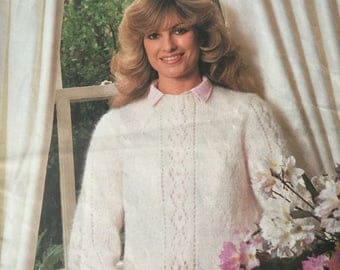 Woolworth Fluffy - book of 1970's knitting patterns