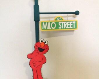 Elmo Centerpiece Sesame Street Elmo's Party Elmo Lamp Post Centerpiece