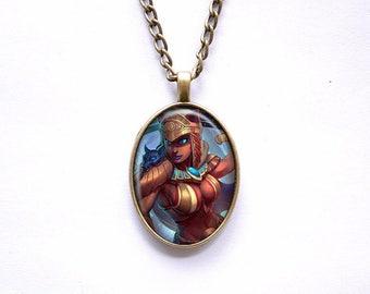 Necklace Smite Egyptian goddess Bastet Goddess of Cats