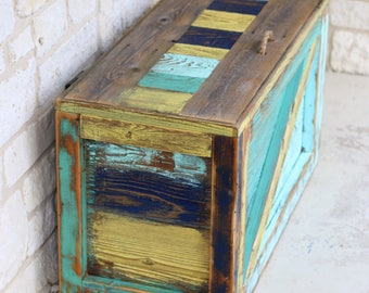 Rustic Storage Trunk--Great for toy storage!
