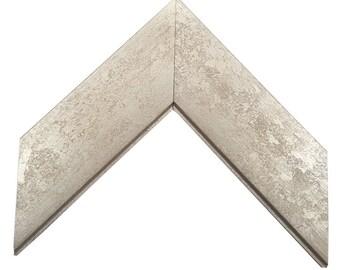 Marbled Silver Picture Frame inside size 4x6 5x7 8x8 8x10 11x14 16x20 20x24 24x36 custom sizes