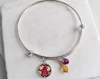 Arizona State University Bracelet, Arizona State Bracelet, Arizona State Sun Devils, Arizona State Gifts, Arizona State Jewelry